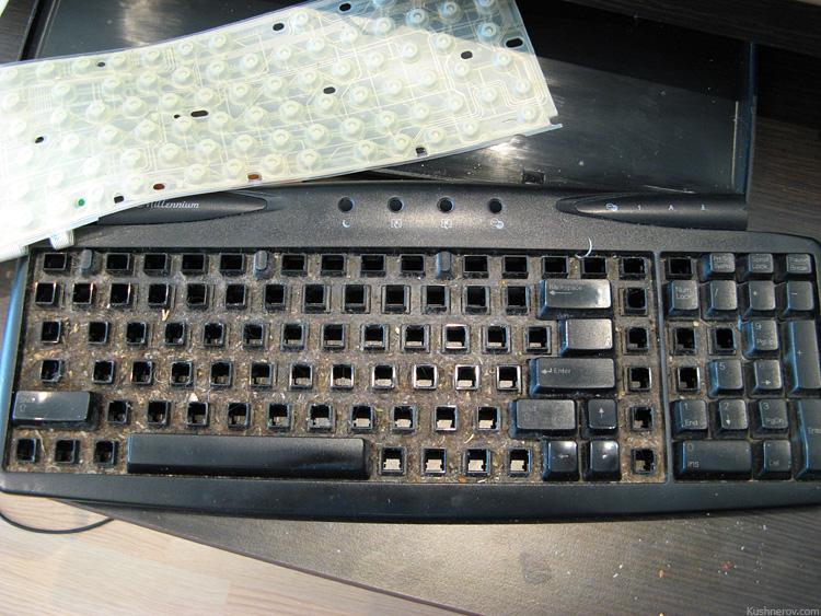 Клавиатура настоящего программиста