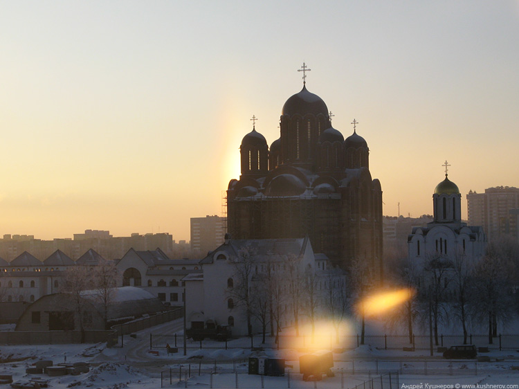 Паргелий в Минске