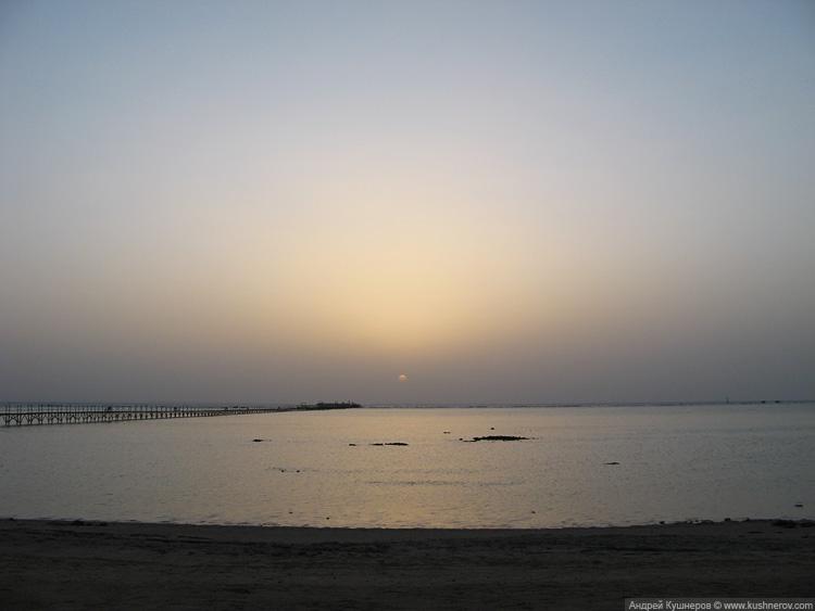 Рассвет в Шарм-эль-Шейхе