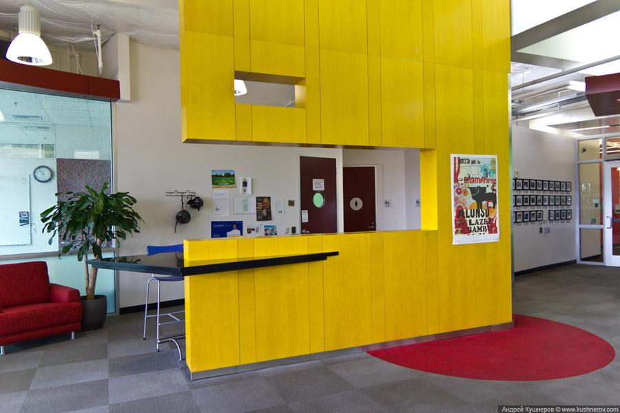 Googleplex - кампус Google в Mountain View, California