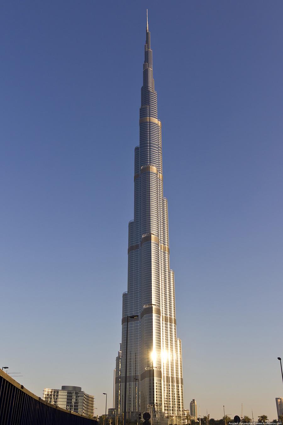Дубай - Небоскрёб Бурж Халифа