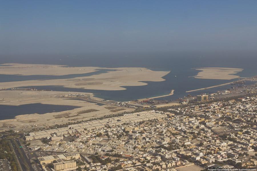 Дубай - Недостроенная Пальма Дейра