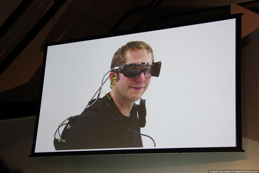Прототип Google Glass