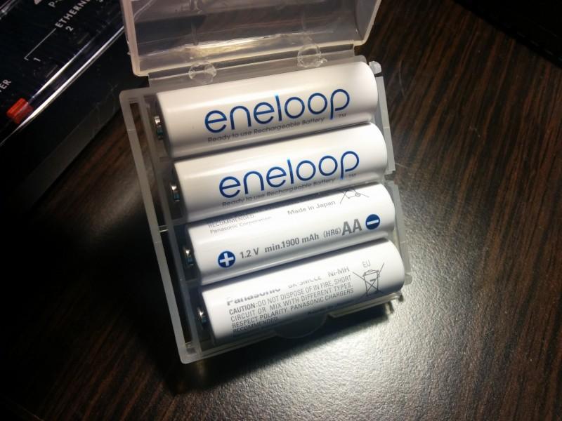 Аккумуляторы Panasonic Eneloop