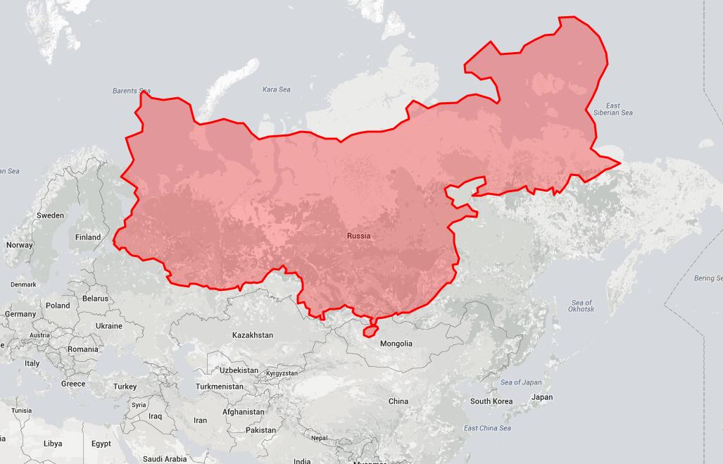 Китай на фоне России