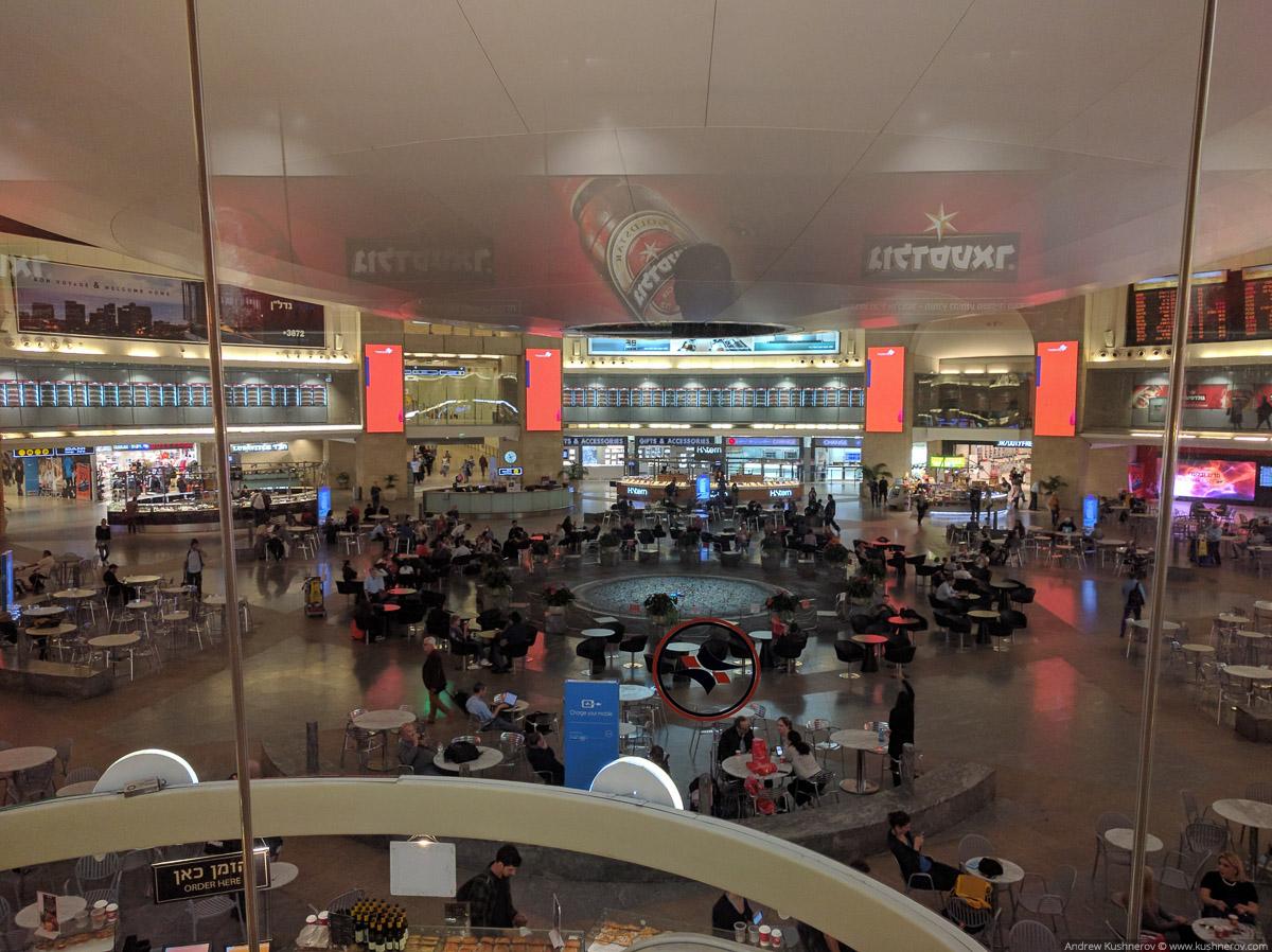 Тель-Авив аэропорт