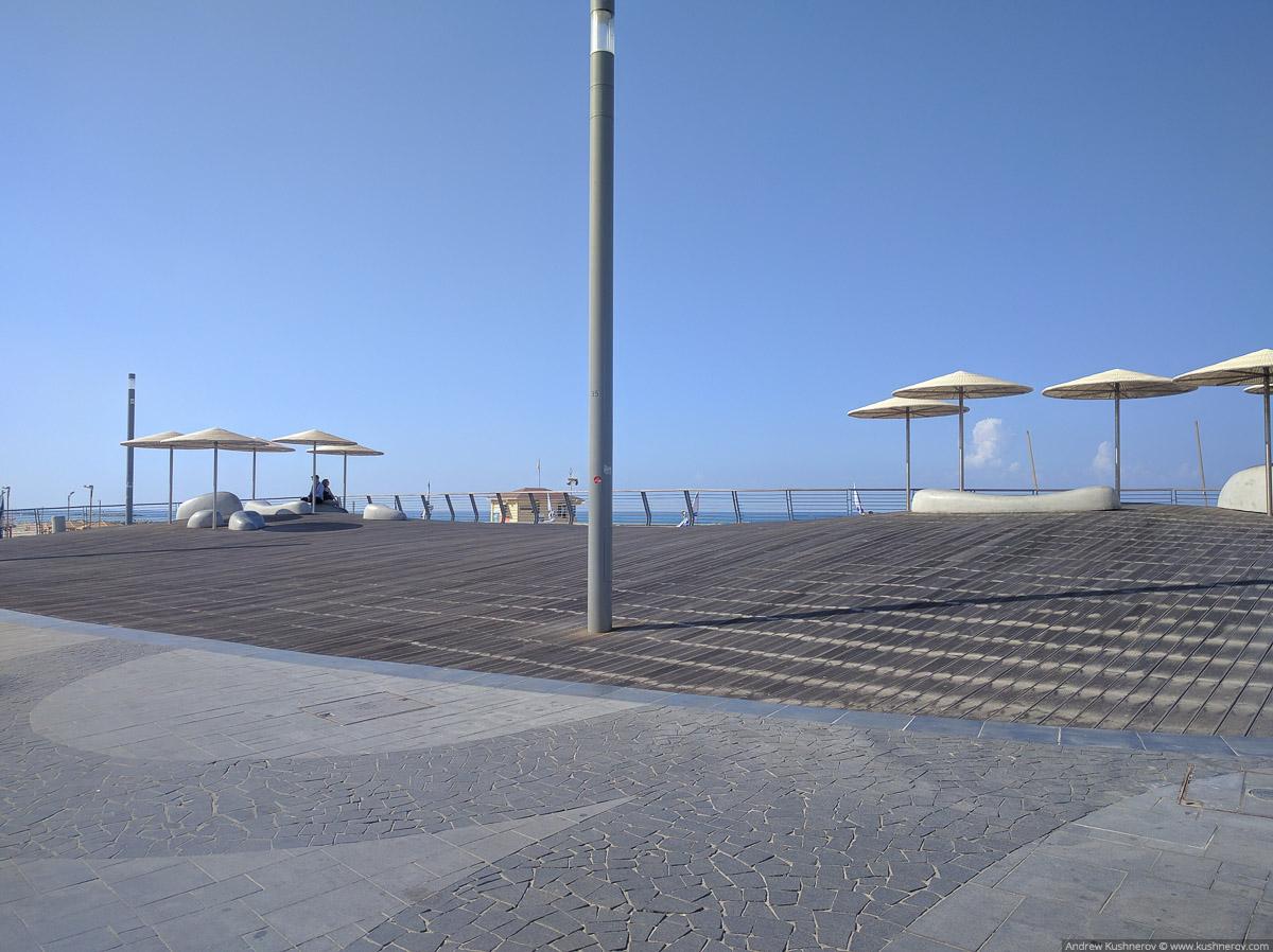 Тель-Авив. Пляж