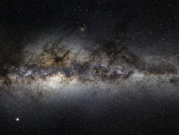 Млечный путь - фрагмент