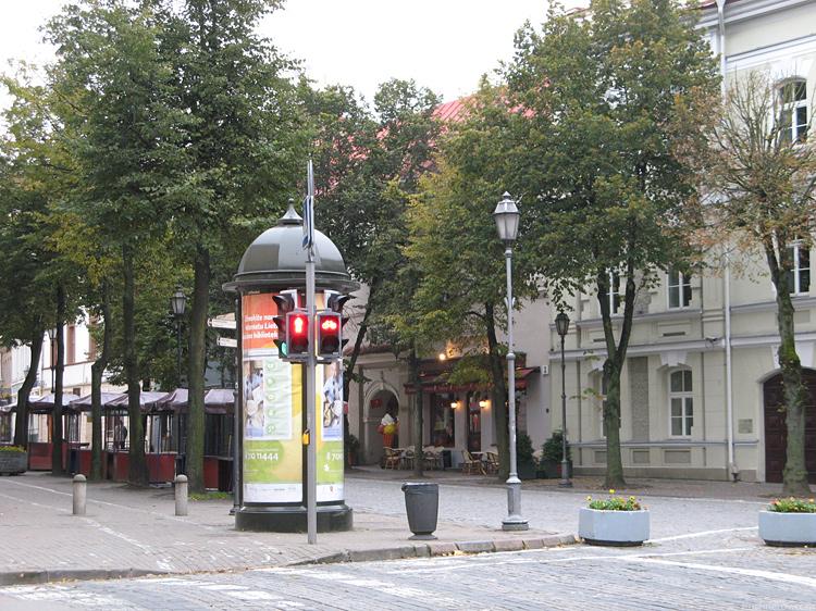 Вильнюс. Улица города