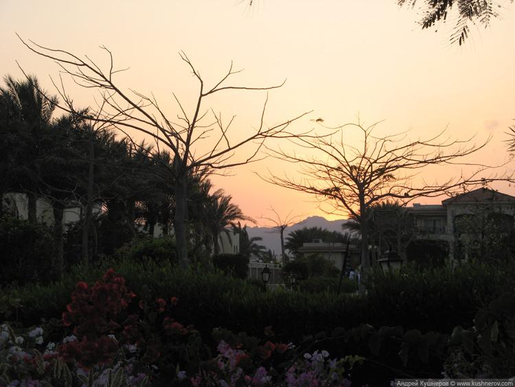 Закат в Шарм-эль-Шейхе