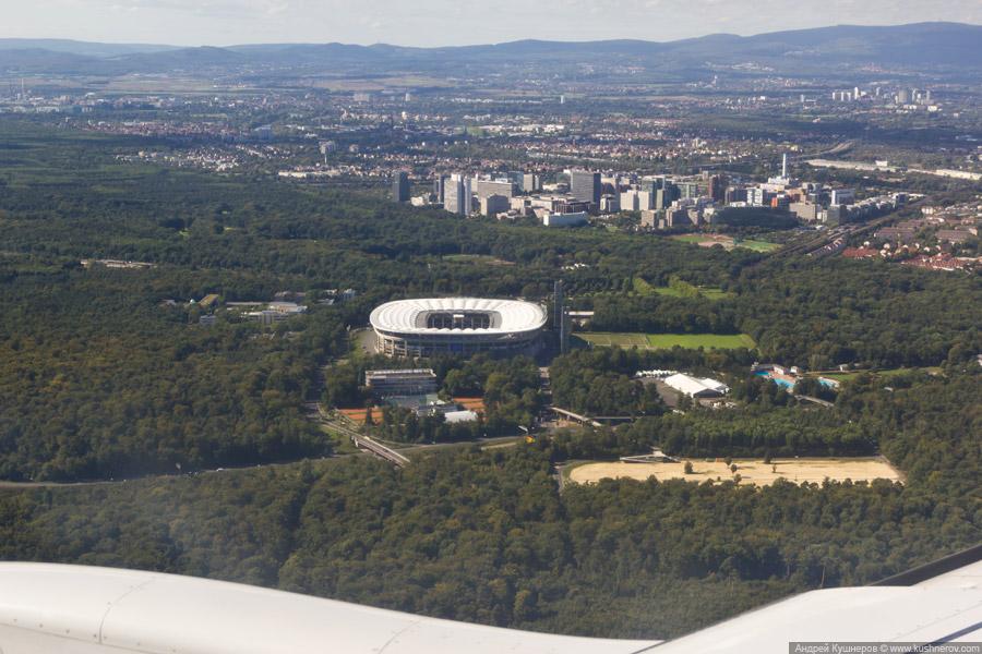 Коммерцбанк-Арена, стадион в Франкфурте-на-Майне