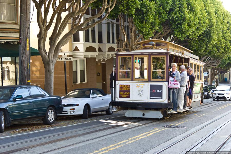 Сан-Франциско - Кабельные трамваи