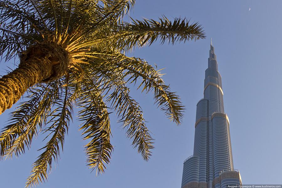 Дубай - Верхушка Бурж Халифа