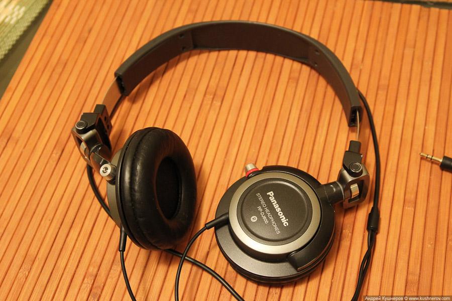 Наушники Panasonic RP-DJ600