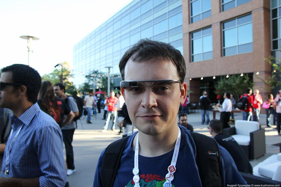 Я c Google Glass