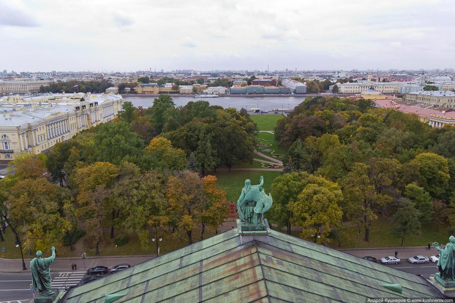 Санкт-Петербург. На крыше Исаакиевского Собора