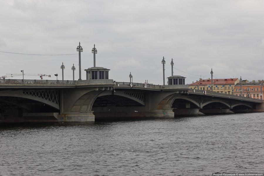 Санкт-Петербург. Мост Шмидта