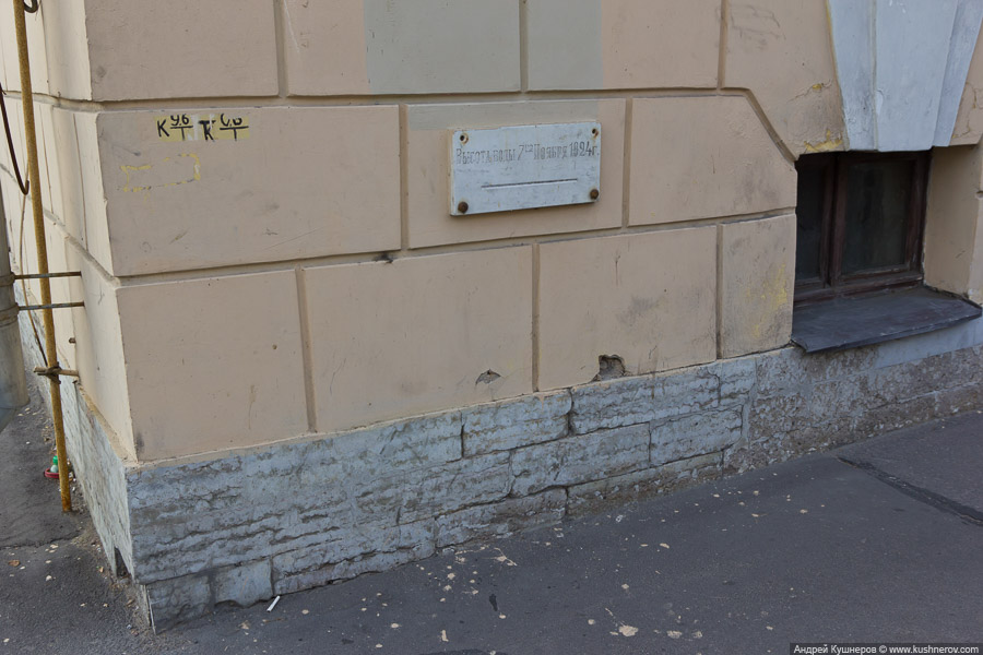 Санкт-Петербург. Уровень воды