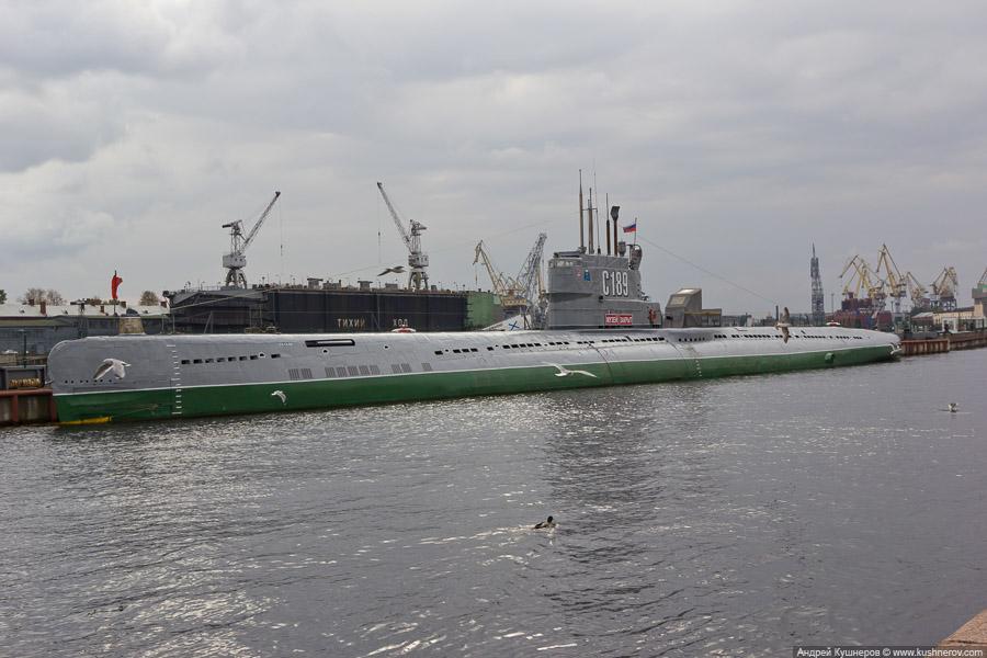 Санкт-Петербург. Подводная лодка