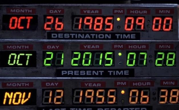 Назад в Будущее, тот самый день