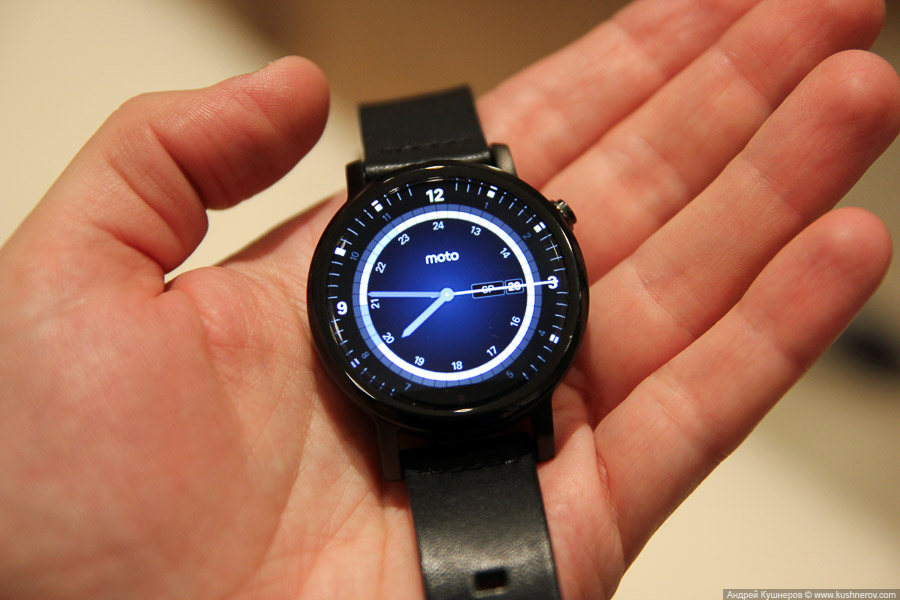 Обзор часов Motorola Moto 360 2-го поколения