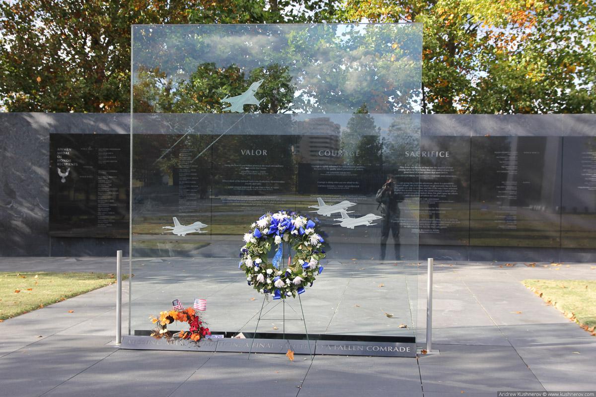 Арлингтон, Вирджиния. Монумент посвящённый военно-воздушным силам