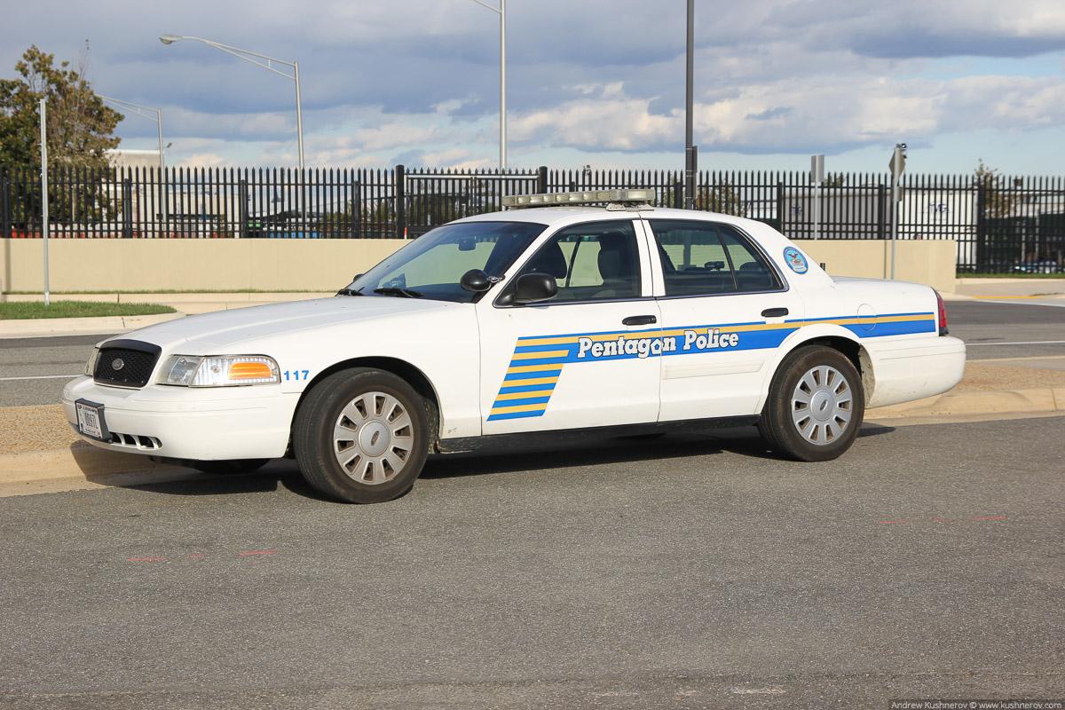 Арлингтон, Вирджиния. Полиция Пентагона