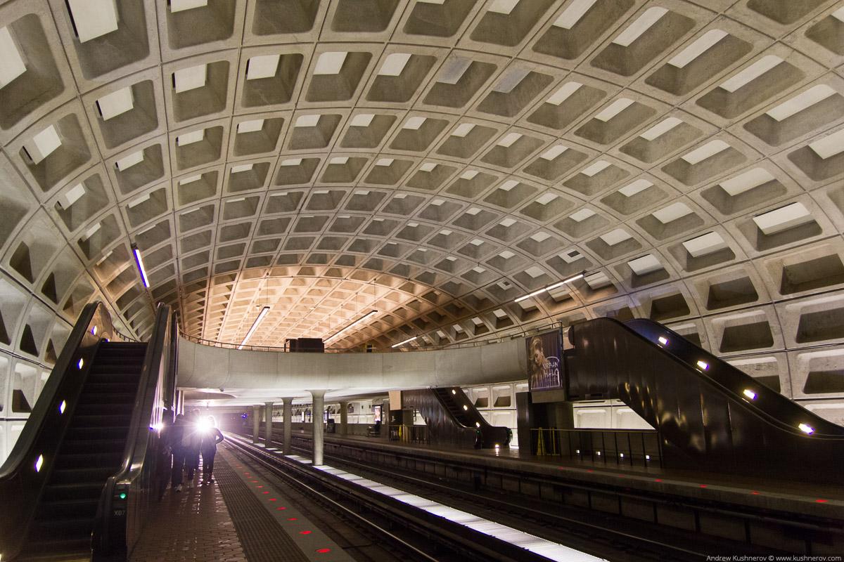 Вашингтон, округ Колумбия. Метро