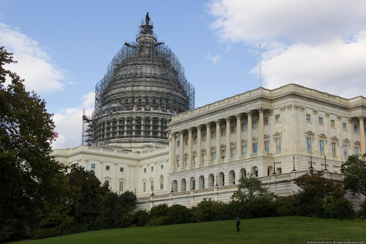 Вашингтон, округ Колумбия. Капитолий