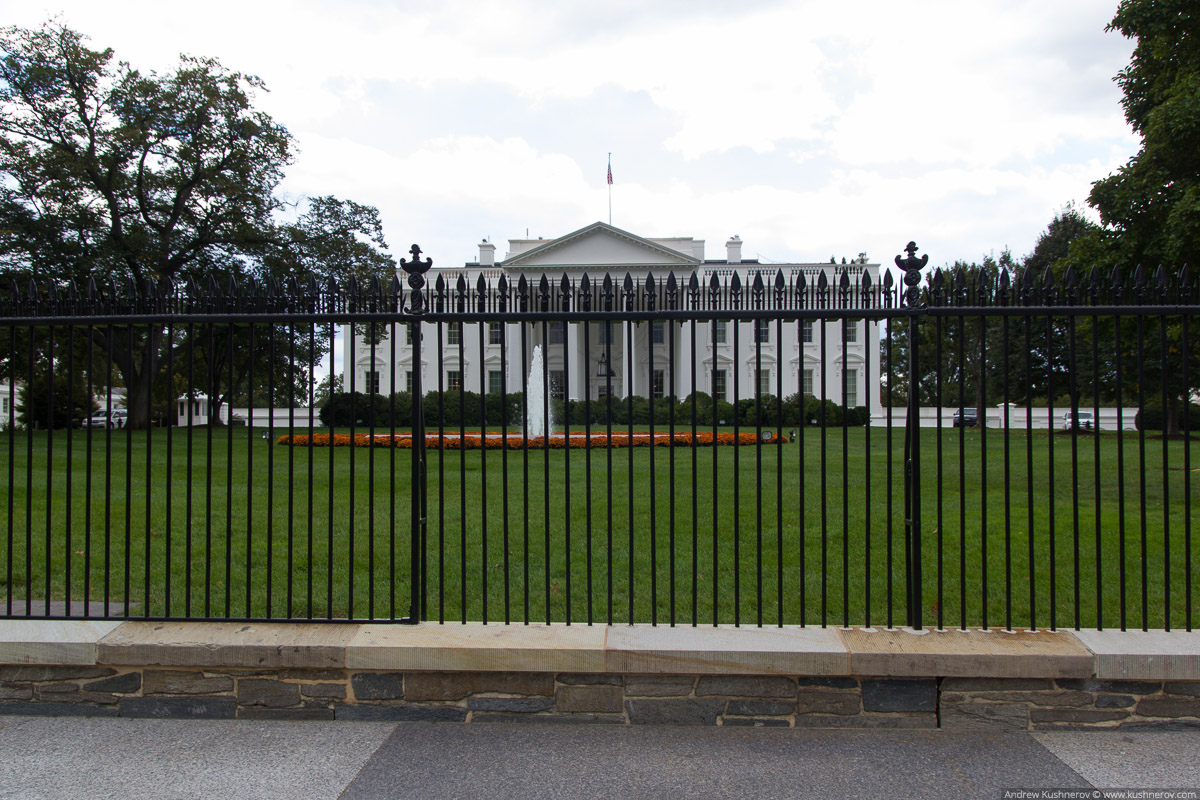 Вашингтон, округ Колумбия. Около Белого Дома