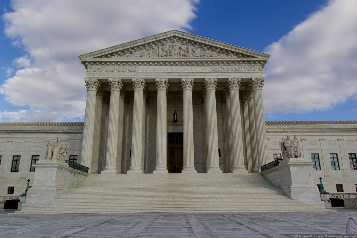Вашингтон, округ Колумбия. Верховный суд США
