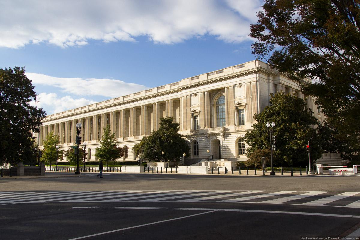 Вашингтон, округ Колумбия. Здание сената