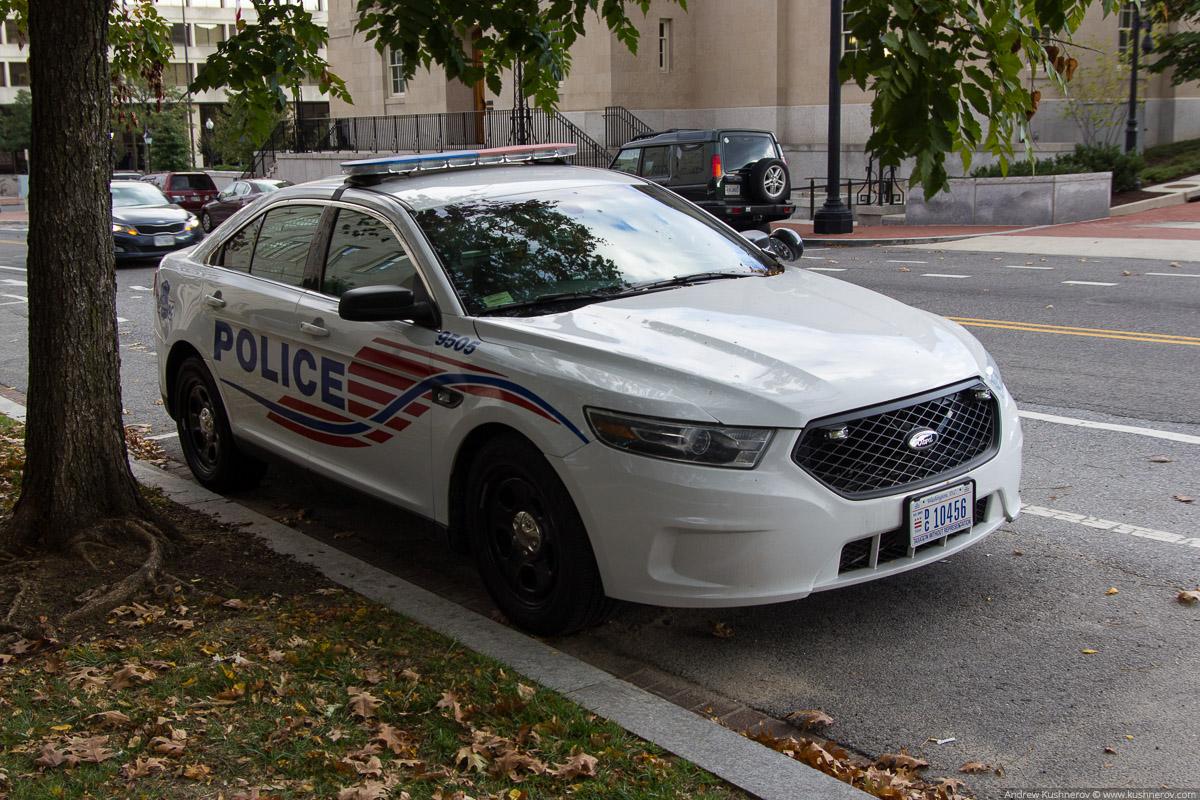 Вашингтон, округ Колумбия. Полиция