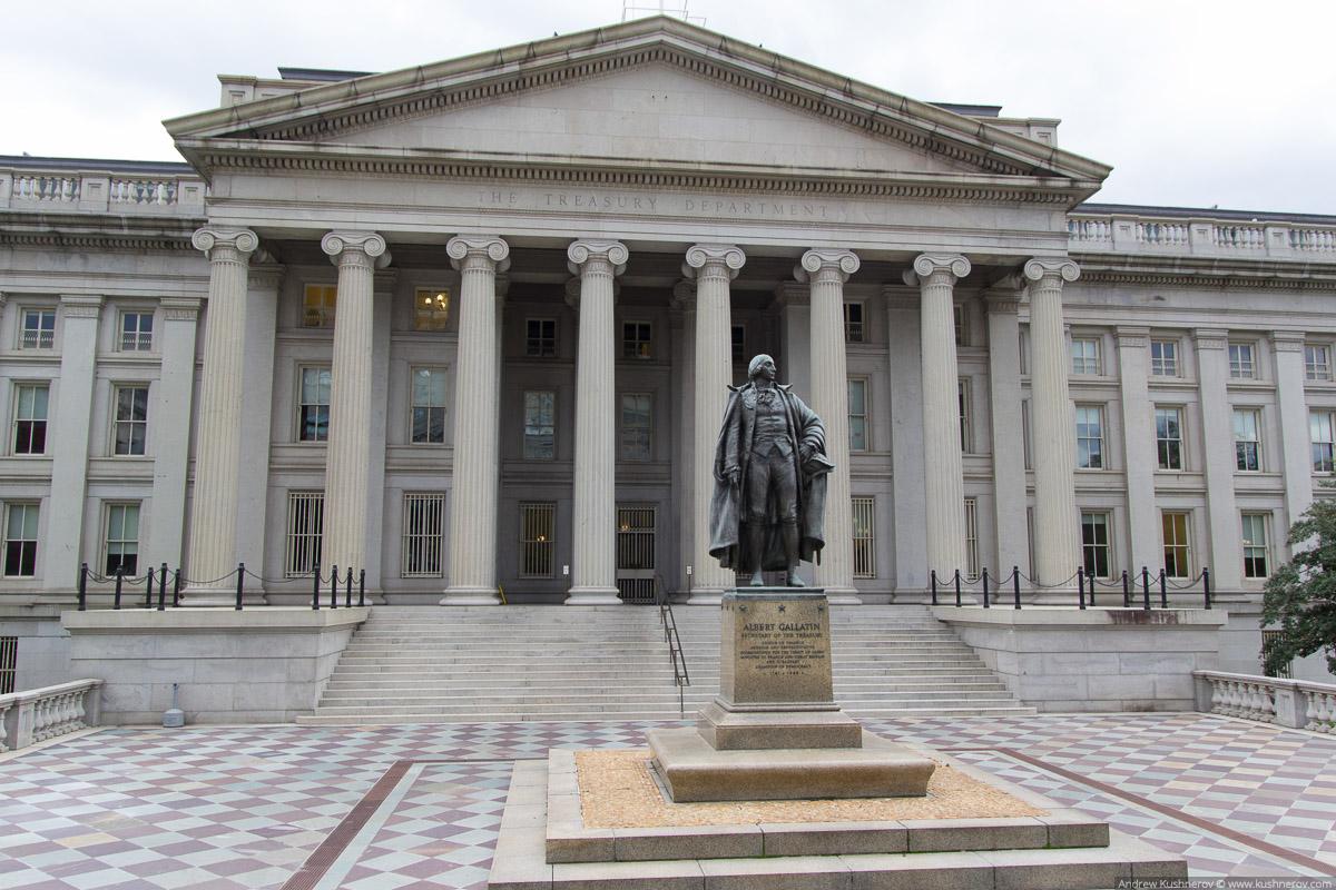 Вашингтон, округ Колумбия. Министерство Финансов США