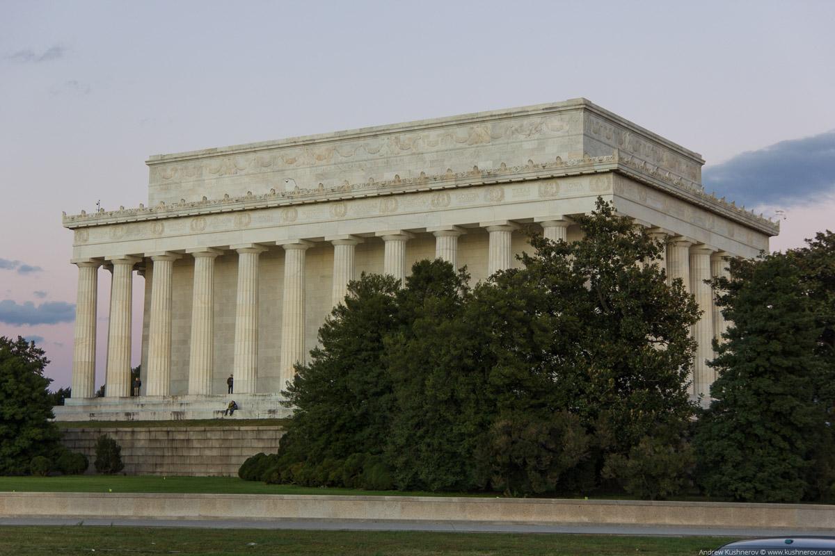 Вашингтон, округ Колумбия. Мемориал Линкольна