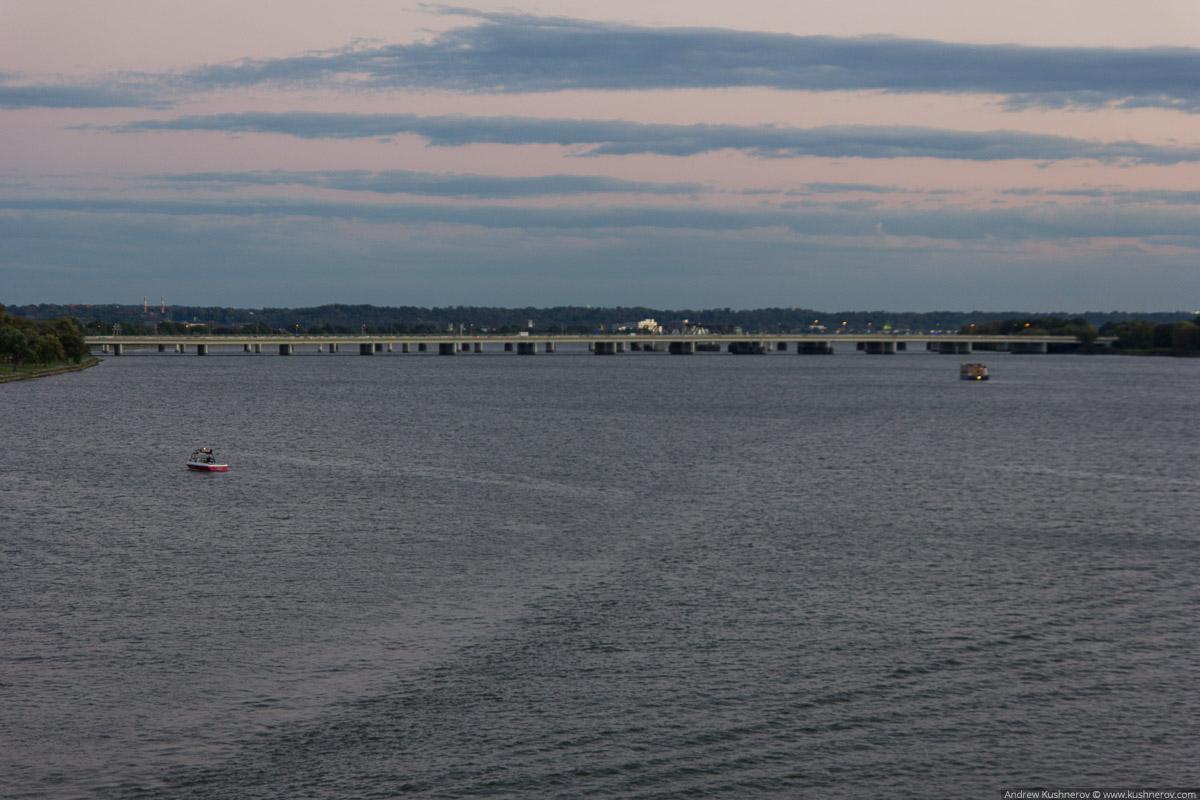 Вашингтон, округ Колумбия. Канал Баундари, река Потомак