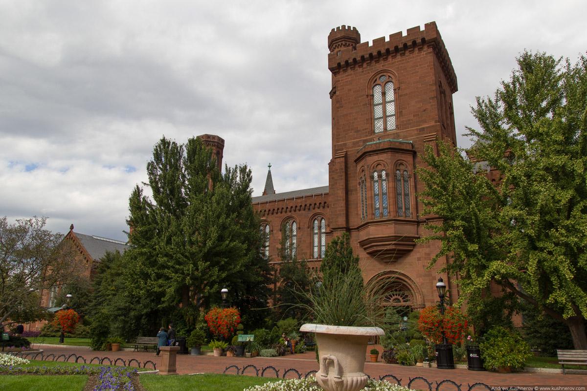 Вашингтон, округ Колумбия. Смитсоновский замок