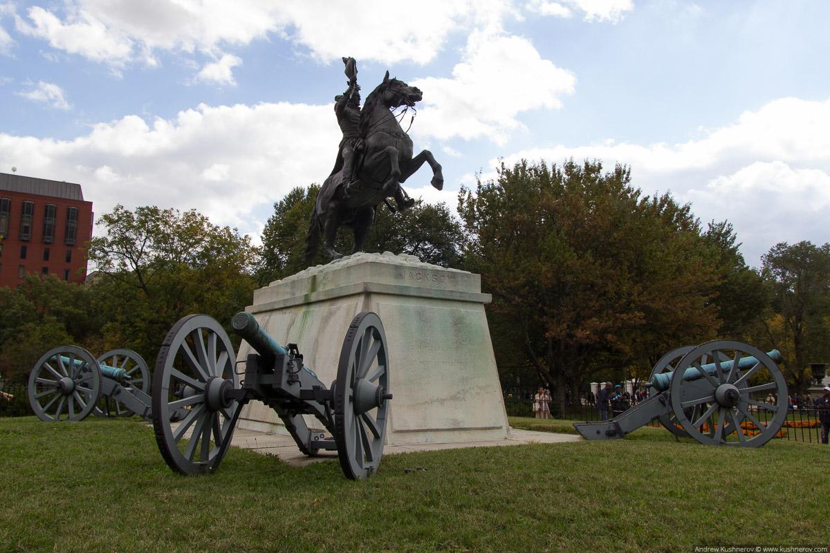 Вашингтон, округ Колумбия. Памятник Джексону