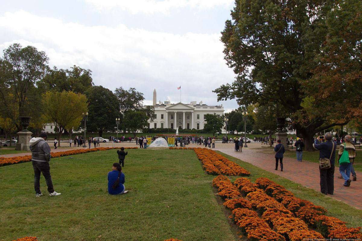 Вашингтон, округ Колумбия. Сквер Лаффает