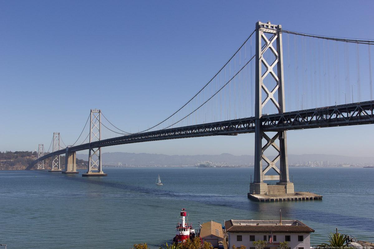 Сан-Франциско. Мост Oakland Bay Bridge