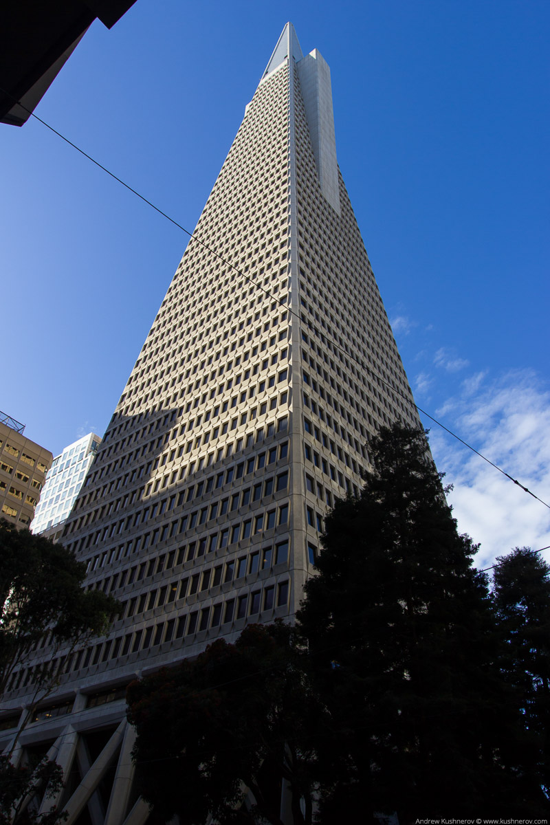 Сан-Франциско, небоскрёб-пирамида Transamerica