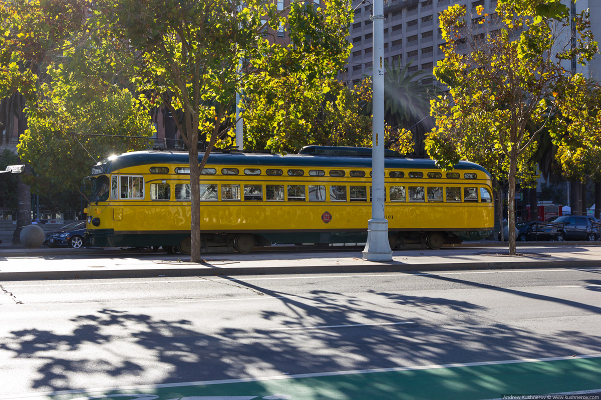 Сан-Франциско, трамвай линии F