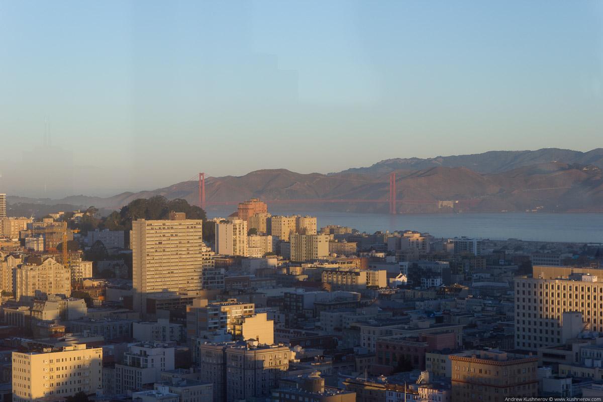 Сан-Франциско. Вид с небоскрёба