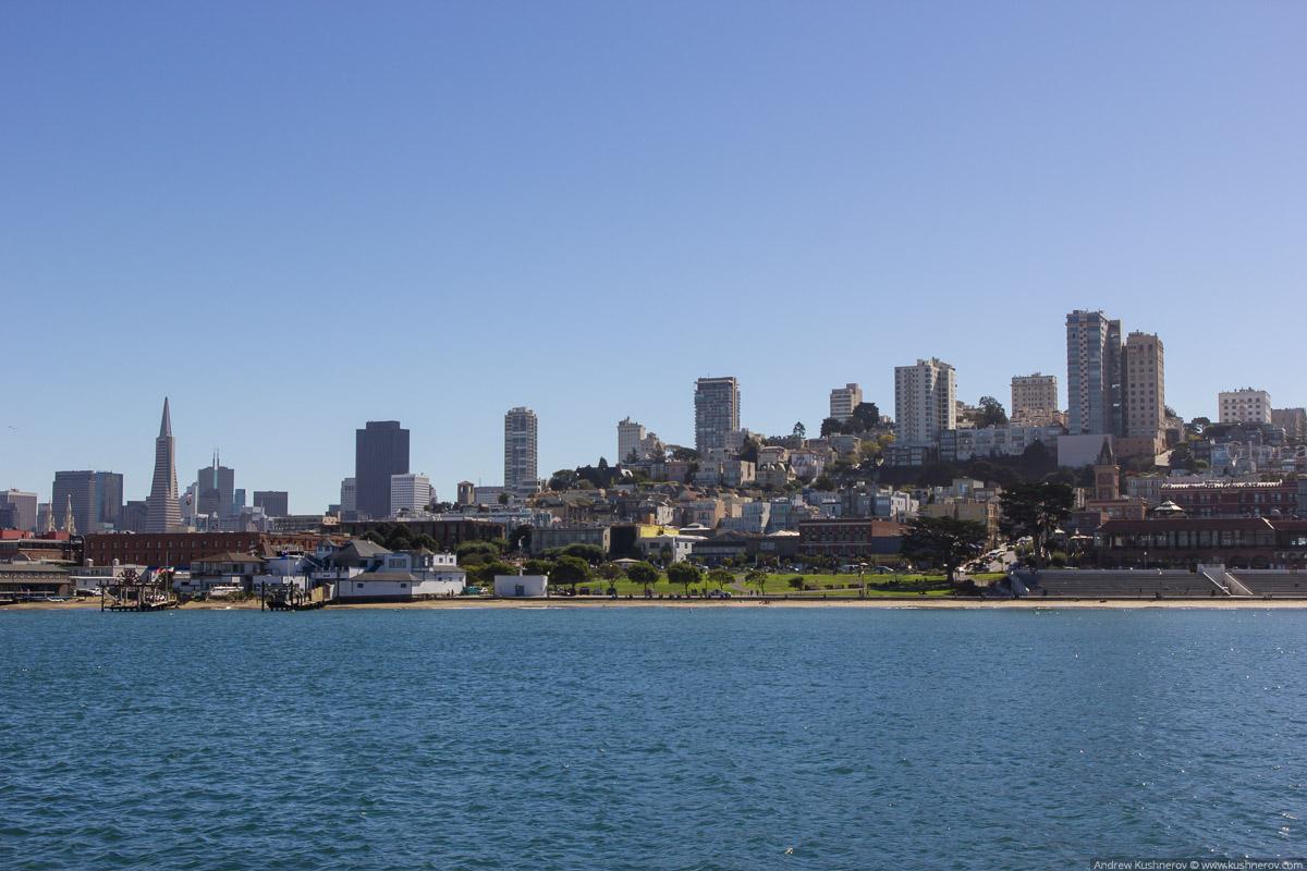 Сан-Франциско. Вид на город с Акватик Парк пирса