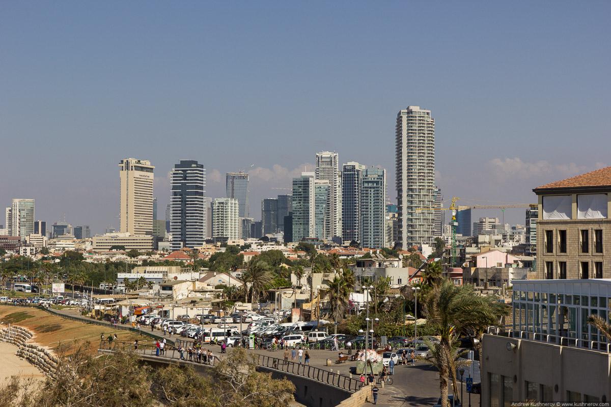 Тель-Авив, вид с старого года