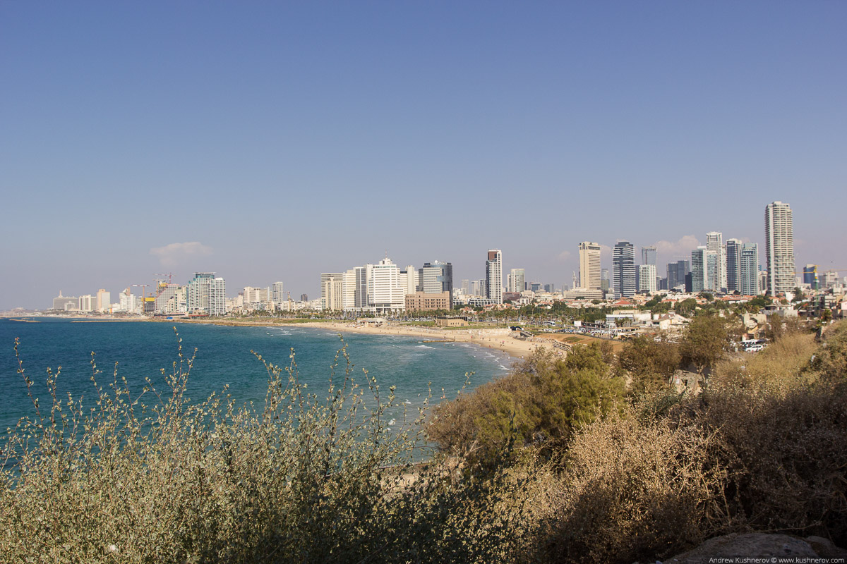 Тель-Авив, вид с старого города